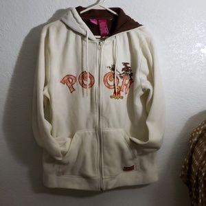 Large 12/14 zipper hoodie